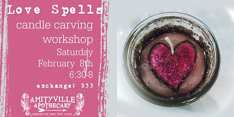 Love Spells Candle Carving Workshop tickets