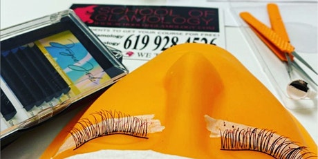 Houston TX, School of Glamology: Everything Eyelashes or Classic (mink) Eyelash Certification tickets