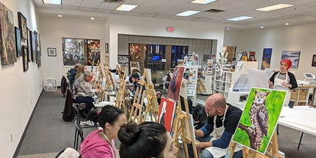 Paint & Sip Saturday April 11th or 25th tickets