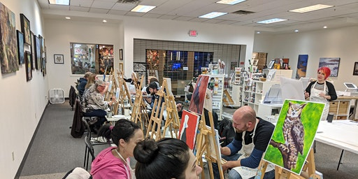 Paint & Sip Saturday April 11th or 25th