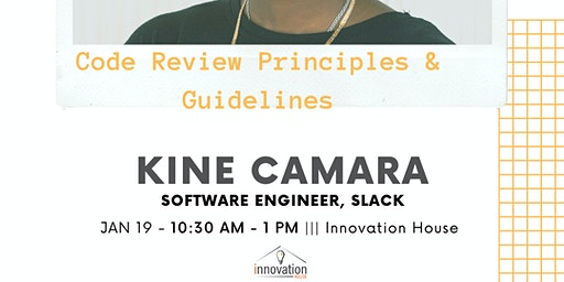 IH Workshop: Code Review Principles & Guidelines.