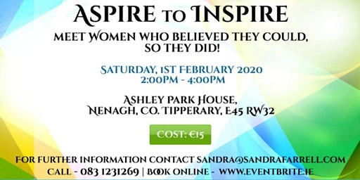Aspire to Inspire - Meet Women Who Believed They Could, So They Did!