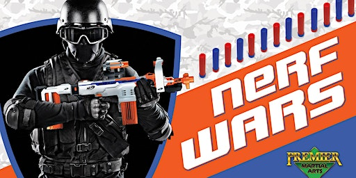 """Parents Night Out - """"Nerf Wars"""" Friday January 17, 2020"""