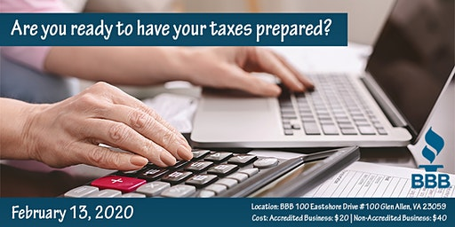 Are you ready to have your taxes prepared?