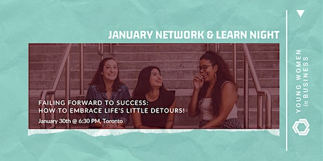 Network & Learn: Failing Forward - Celebrating/learning from life's detours tickets