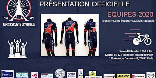 Présentation des équipes du Paris Cycliste Olympique