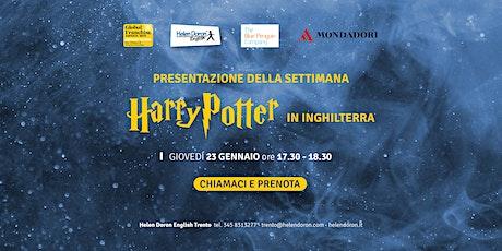 Presentazione della settimana di Harry Potter in Inghilterra biglietti