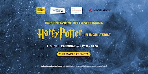 Presentazione della settimana di Harry Potter in Inghilterra