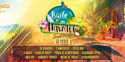 Baile do Hawaii no Paineras - Sunset Party