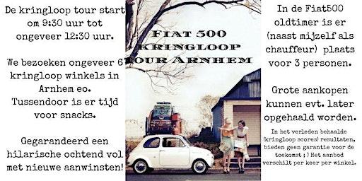 Vintage Fiat500 kringloop tour.