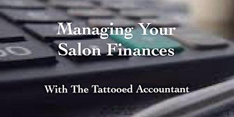 Managing your Salon Finances tickets