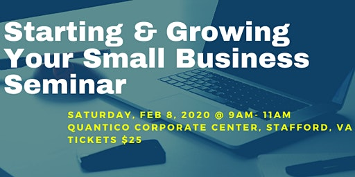Starting & Growing Your Small Business Seminar