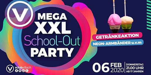 Die mega XXL School-Out Party