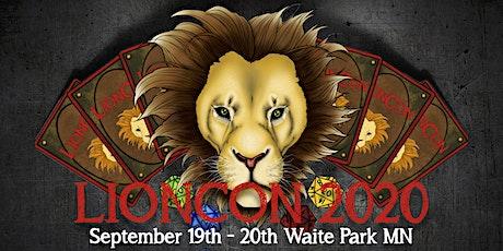 LionCon 2020: Villainous Intrigue tickets
