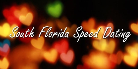 South Florida Speed Dating Event, Ages 28 - 38 tickets