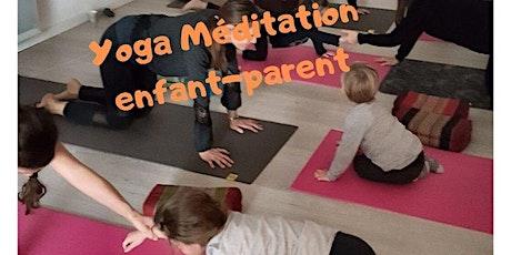 Yoga Méditation en duo Enfant-Parent à Corronsac tickets