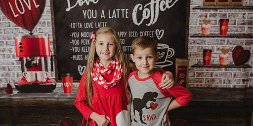 I Love You A Latte * Coffee Shop Valentines Day Minis!