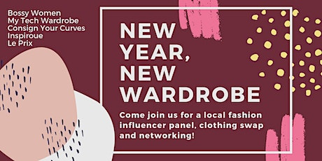 New Year, New Wardrobe Influencer Panel + Clothing Swap tickets