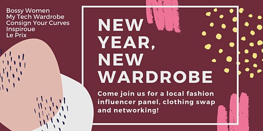 New Year, New Wardrobe Influencer Panel + Clothing Swap