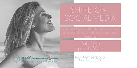Shine on Social Media Workshop tickets