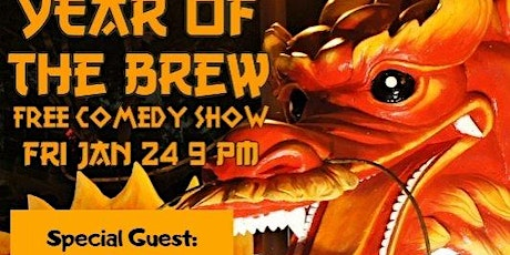 Year of the Brew Free Comedy Show tickets