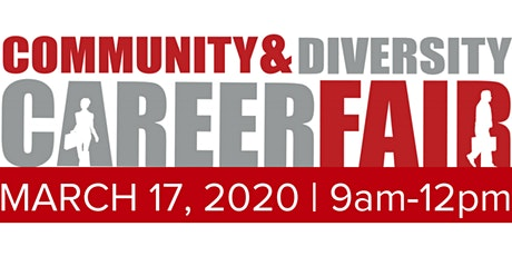 Community & Diversity Career Fair - TUCSON   Meet with 20+ Diverse Hiring Companies   March 19, 2020 tickets