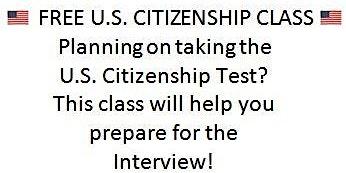 U. S. Citizenship Class