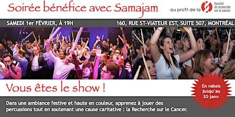 Soirée Bénéfice avec Samajam pour la SRC tickets