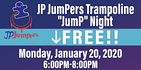 """January 2020 Edition -Trampoline """"JumP"""" Night at LAUNCH ENTERTAINMENT PARK tickets"""