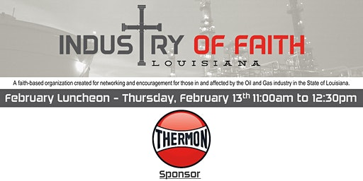 Industry of Faith - February 2020 Luncheon