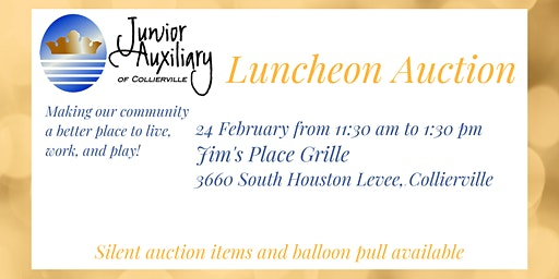 2020 Junior Auxiliary of Collierville Luncheon Auction