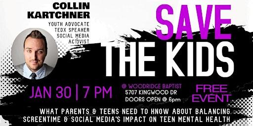 Collin Kartchner Save the Kids 2020