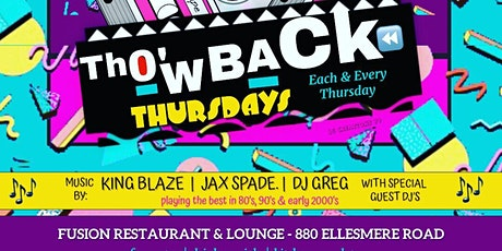 Throwback Thursdays tickets