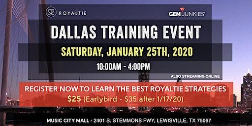 Dallas Royaltie Platform Training