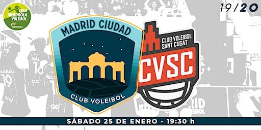 LIGA IBERDROLA VOLEIBOL (J15): Madrid Chamberí vs DSV CV Sant Cugat