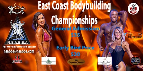East Coast Bodybuilding Championships tickets
