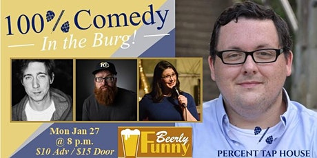 100% Comedy in the Burg tickets