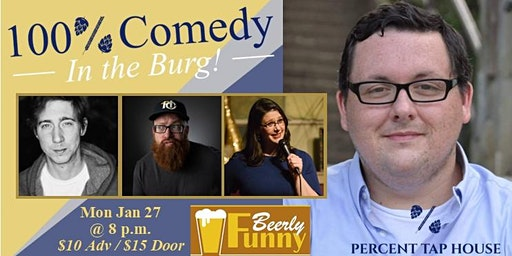 100% Comedy in the Burg