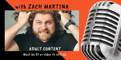NBSA Comedy Night at the Downs with ZACH MARTINA