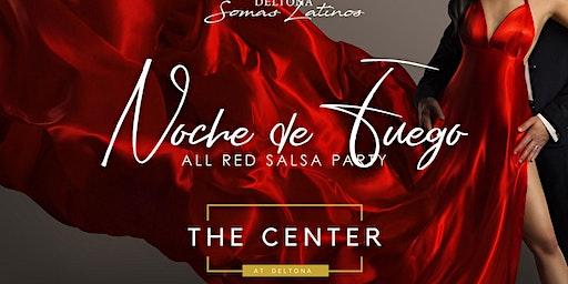 """Noche de Fuego """"All Red Salsa Party"""""""