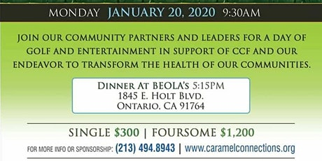 CCF Charity Golf Classic tickets