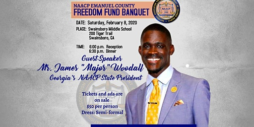Emanuel NAACP Freedom Fund Banquet