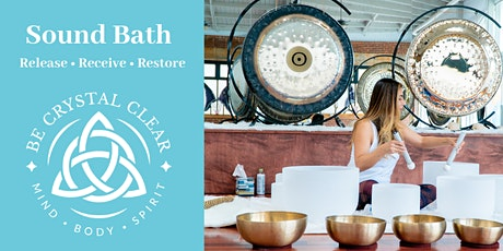Sound Bath (SoundBath) by Be Crystal Clear tickets
