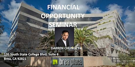 Financial Opportunity Seminar tickets