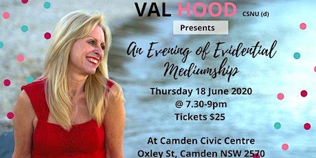 An Evening of Mediumship Camden 18 June tickets