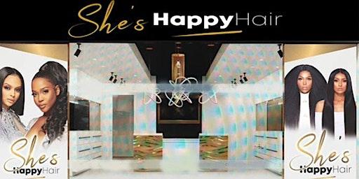 She's Happy Hair is OPEN !!! (Inside Walmart)