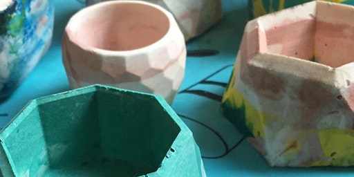 Create a Jesmonite Pot (Afternoon Session)