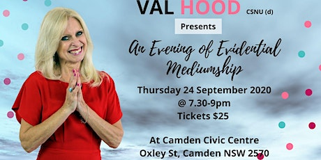 An Evening of Mediumship with Val - 24 September tickets