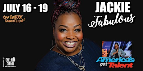 Comedian Jackie Fabulous live in Naples, Florida tickets
