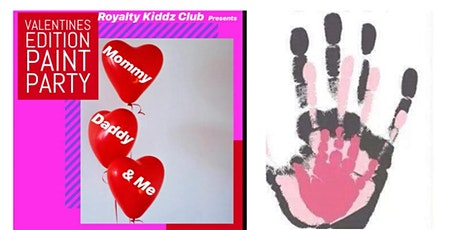 Mommy Daddy & Me Painty Party (Valentines Edition) tickets